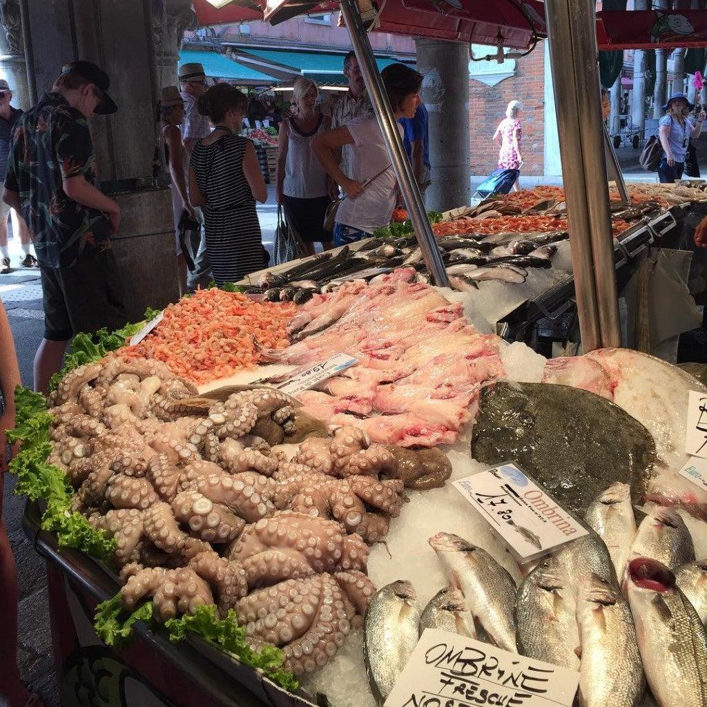 Mercado de Rialto Veneza