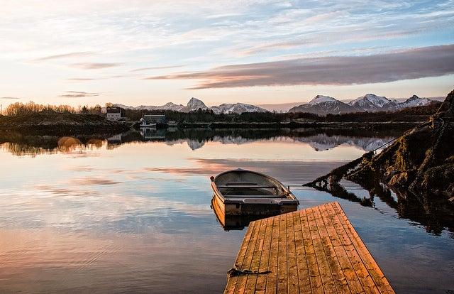 Norvège barque