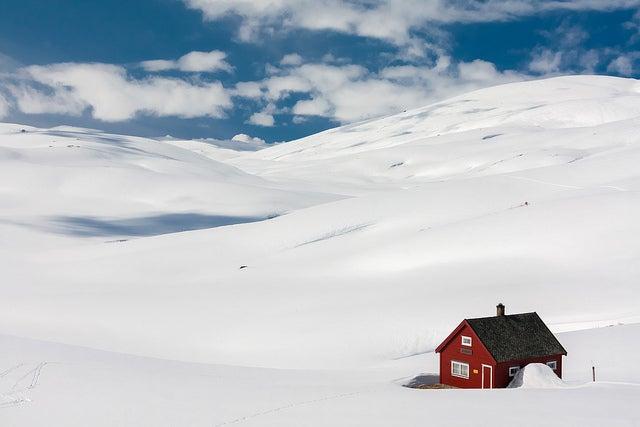 Désert neige Norvège