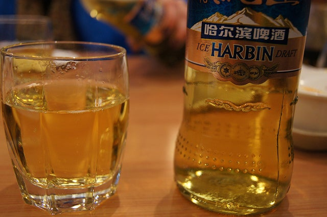Bière Harbin Chine