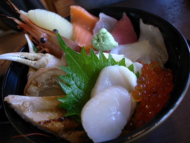 Kaisendon bol de rix au fruits de mer