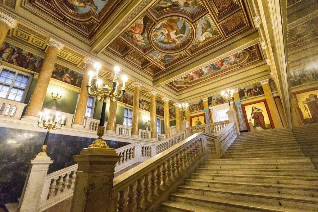 Musée National Hongrois intérieur