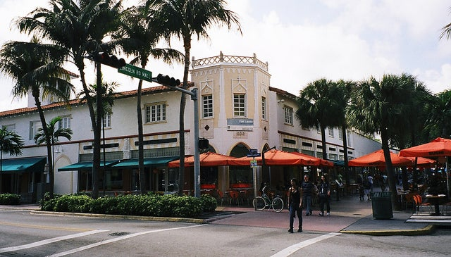 Linconln Road Mall en Miami
