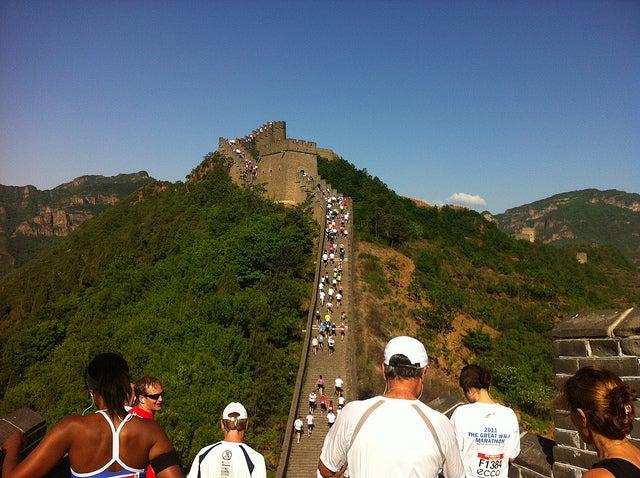 marathon muraille de chine
