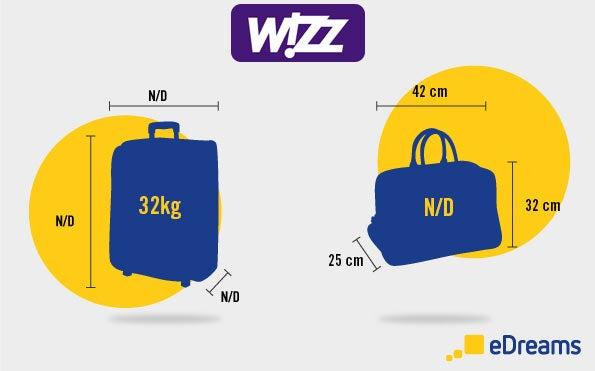 tout savoir sur les bagages wizz air le blog de voyage edreams. Black Bedroom Furniture Sets. Home Design Ideas