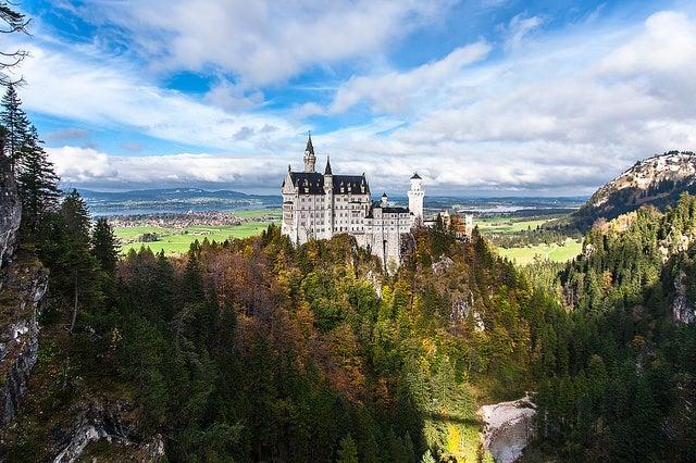 Castillo en Baviera