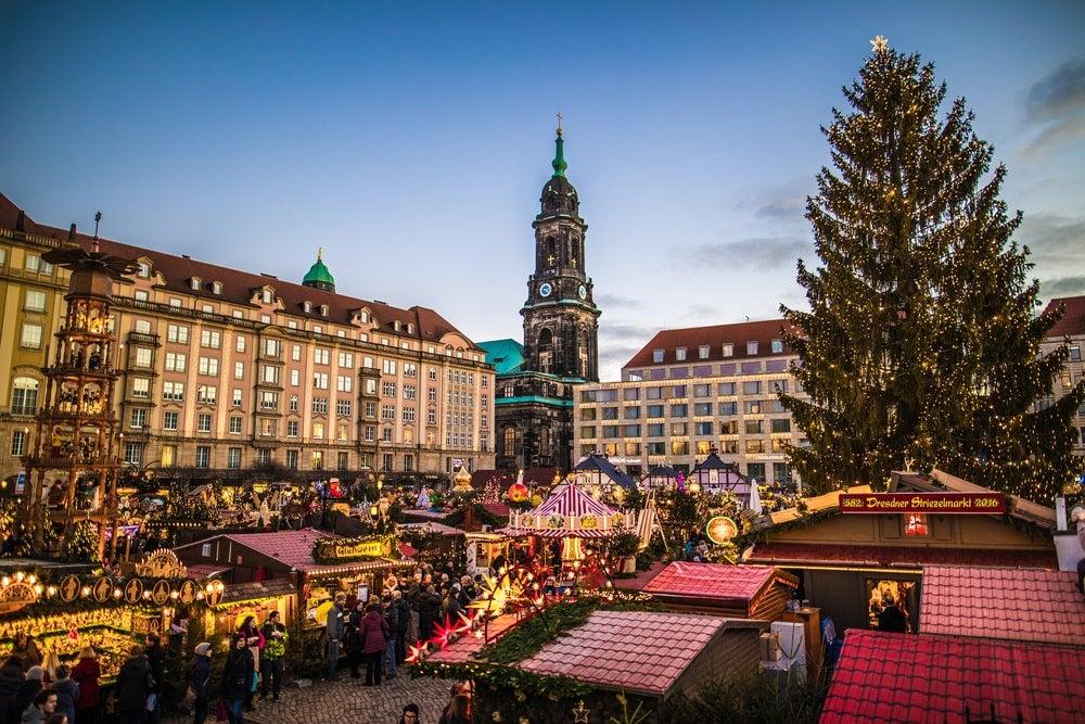 Marche de noel Dresde Allemagne - blog eDreams