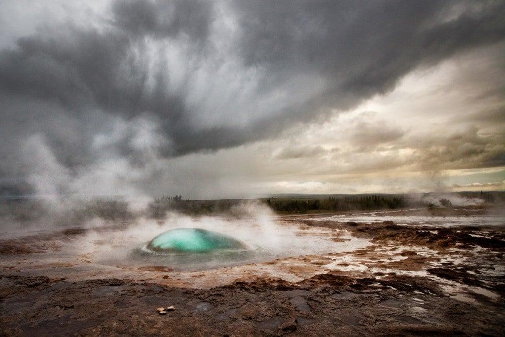 geysers islande