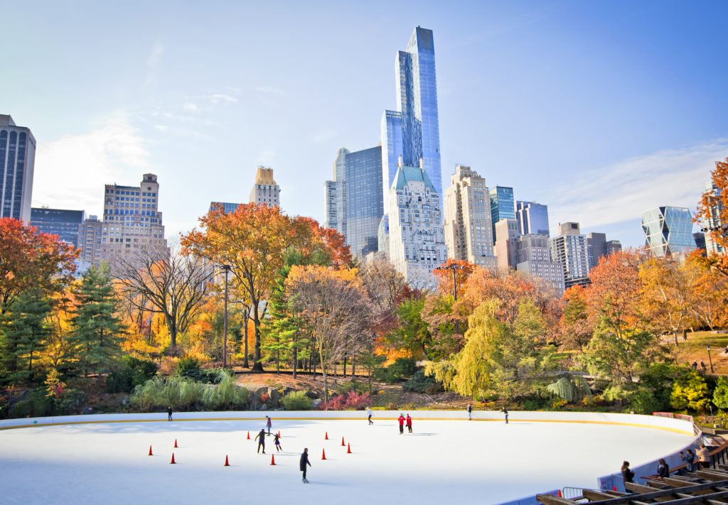 patinoire à new york pour Noël - eDreams