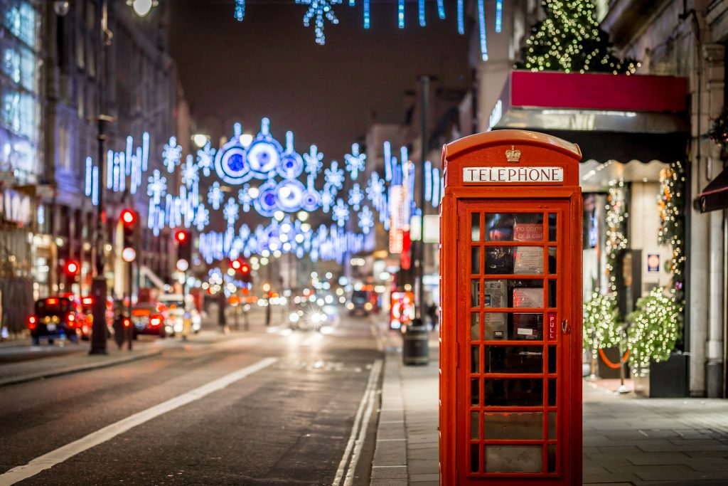 décorations de Noël à Londres - eDreams
