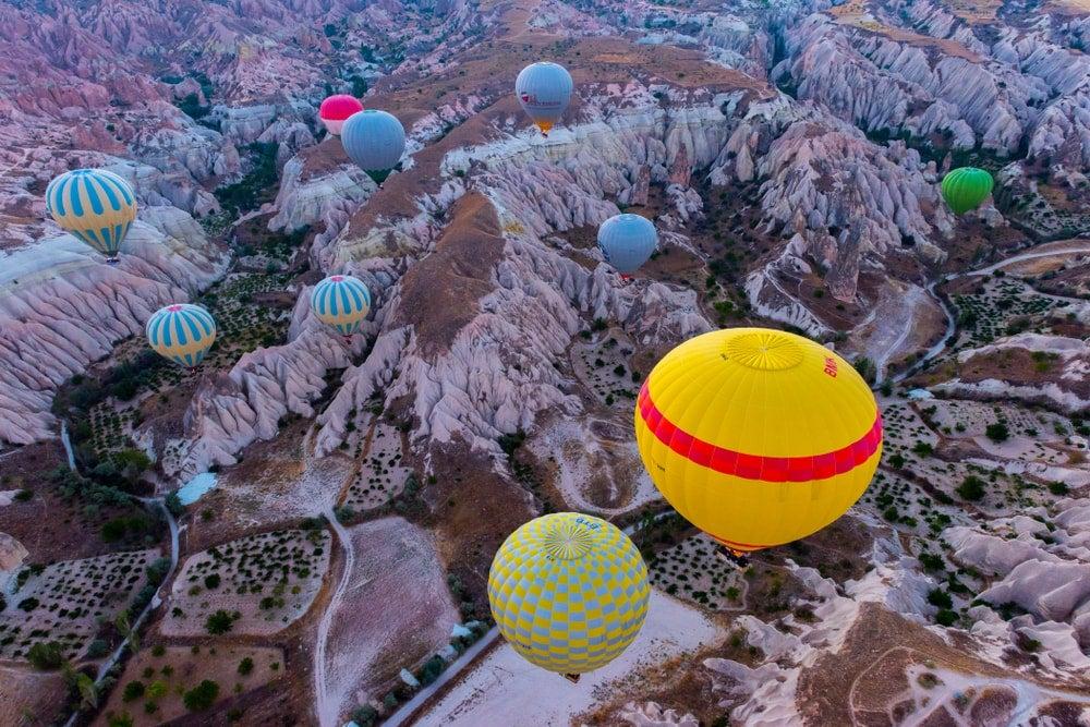 cappadoce montgolfière - blog eDreams