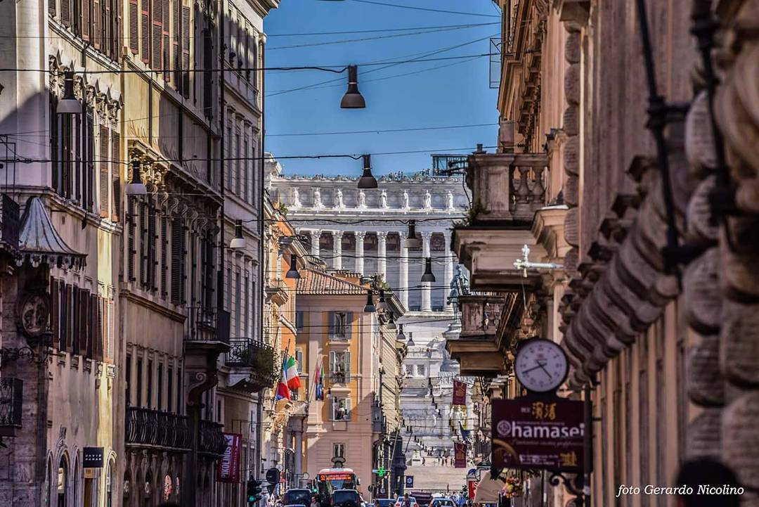 via del corso rome - blog edreams