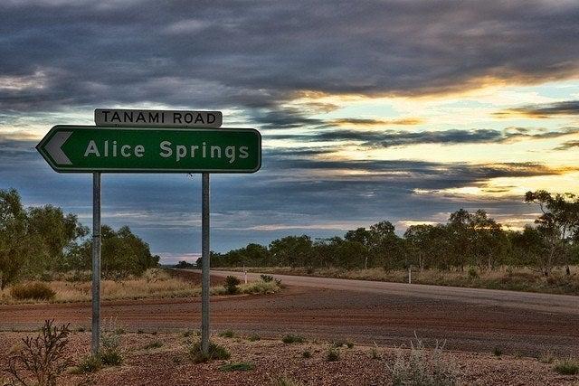 road trip desert australien