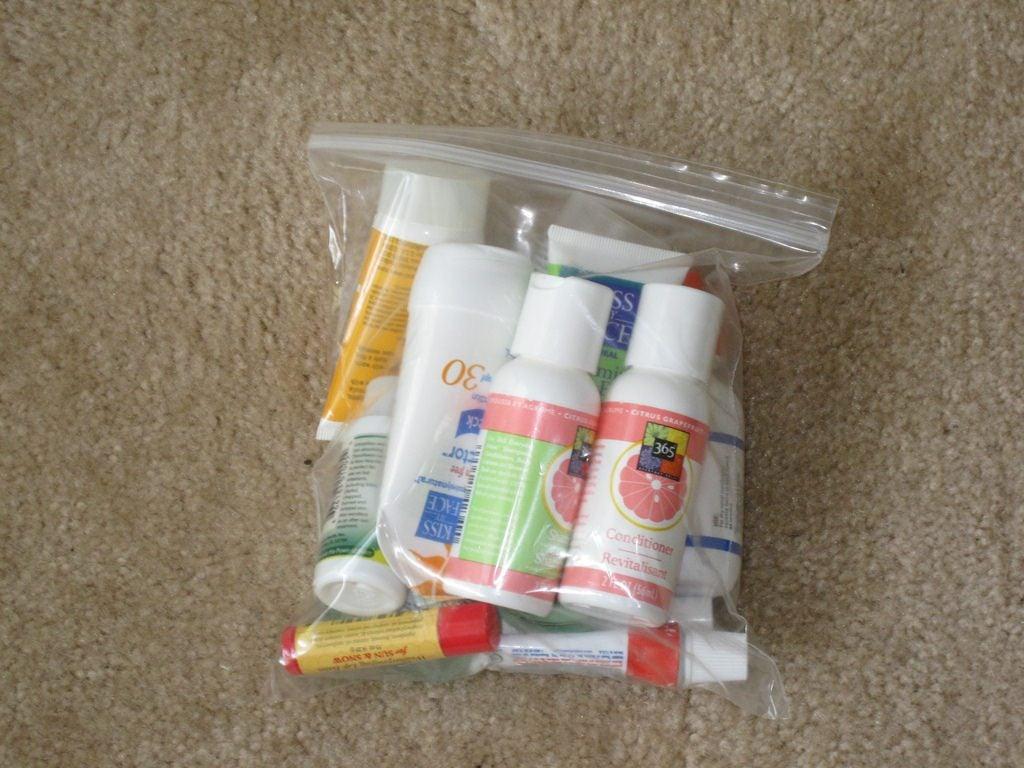 liquides sac plastique valise cabine eDreams