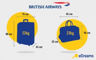 bagages British Airways - blog eDreams