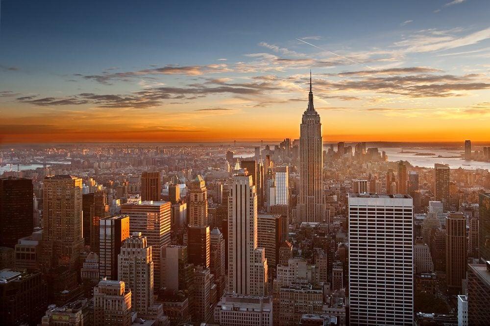 New York coucher soleil - blog eDreams