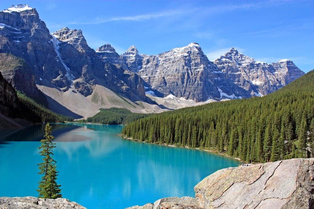 Canadian Rockies Moraine Lake; Banff NP, Canada - blog eDreams