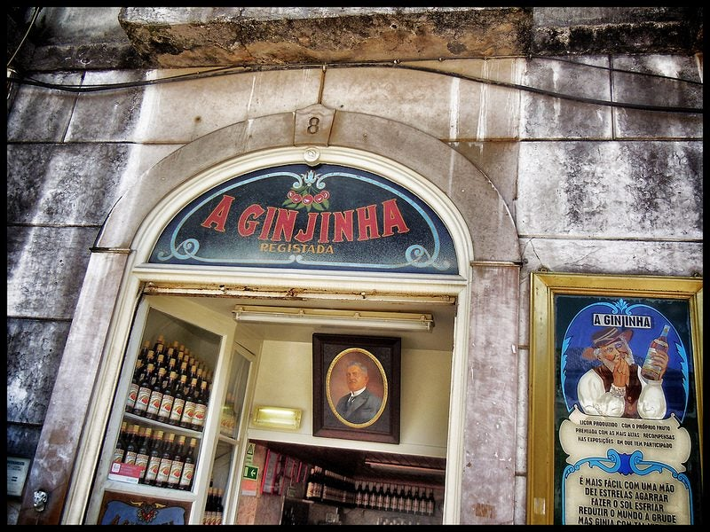 a ginjinha Lisbonne - blog eDreams