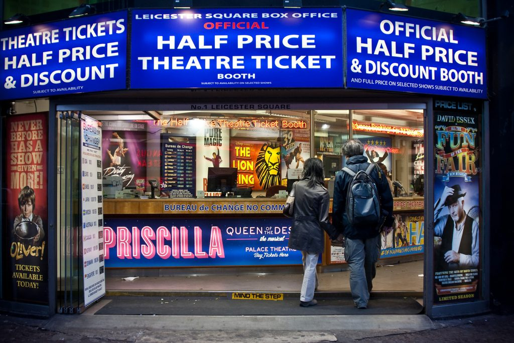 Leicester Square Box Office Londres - blog eDreams