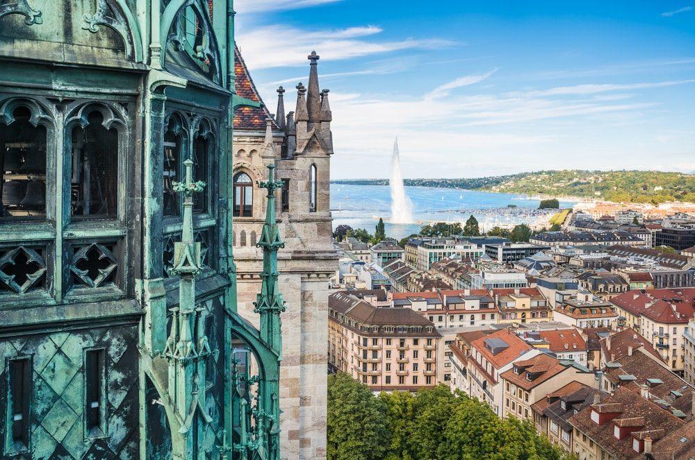 jet d'eau de Genève - blog eDreams