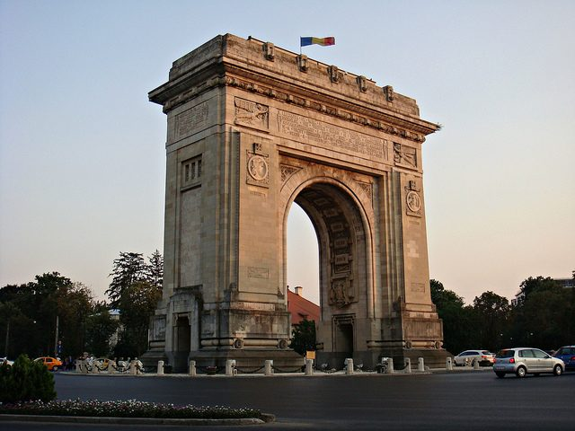 L'Arc de Triomphe, Bucarest - blog eDreams