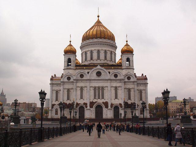 cathédrale du saint-sauveur, Moscou - blog eDreams