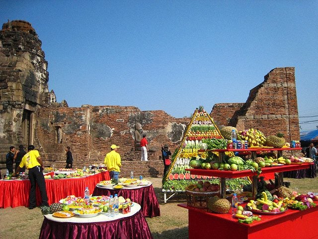 festin singes Lopburi thailande blog edreams