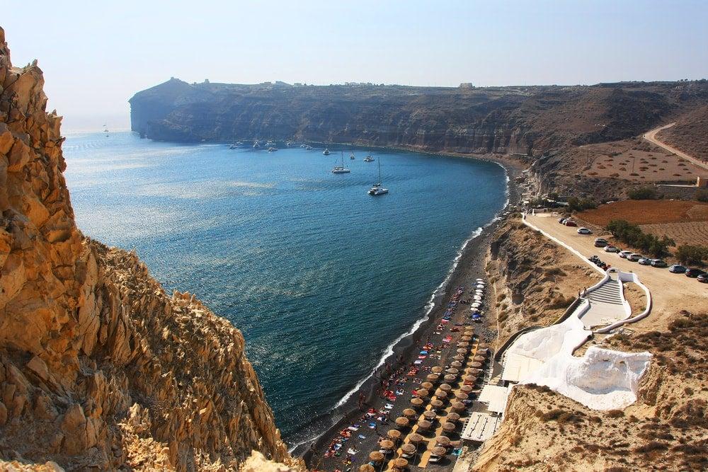 plage santorin grece - blog eDreams