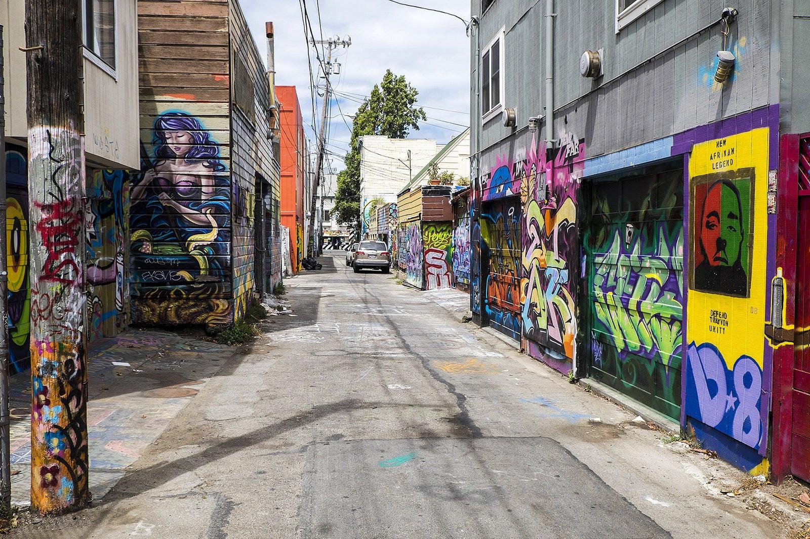 San Francisco street art eDreams