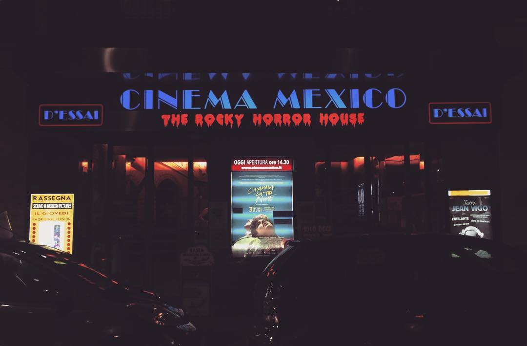 Milan cinema mexico - the rocky horror house