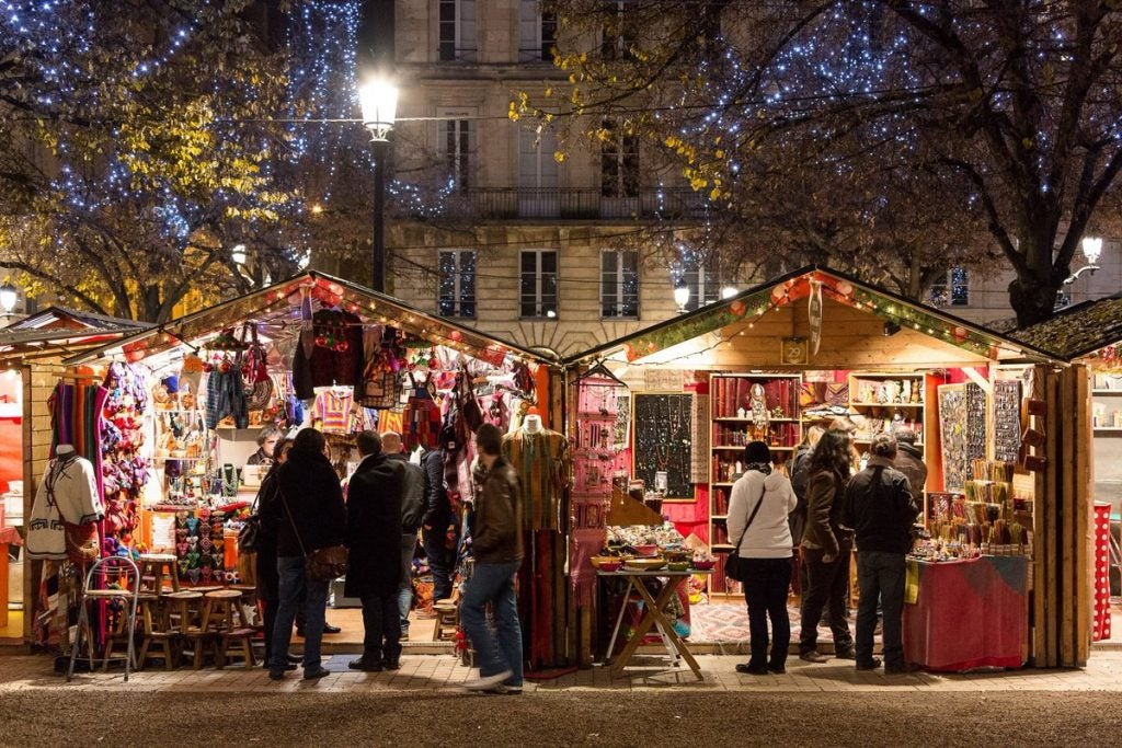 marché de noël Bordeaux - blog eDreams