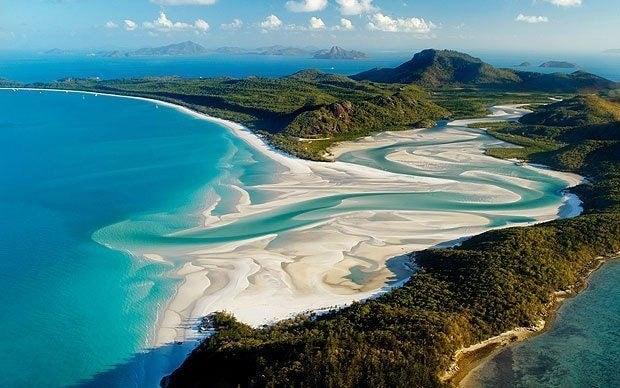 Whitehaven Beach en Australie - blog eDreams