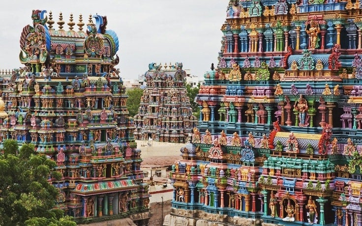 Meenakshi Temple en Inde - blog eDreams