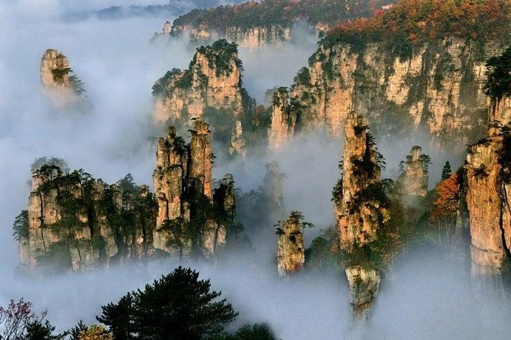 monts Tianzi en Chine - blog eDreams