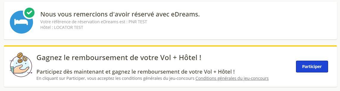 concours vol hotel - blog eDreams