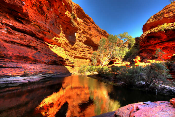 gorge kings canyon territoire du nord australie - blog eDreams