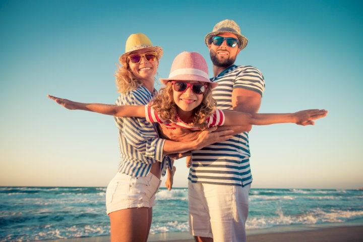 famille vacances plage - blog edreams