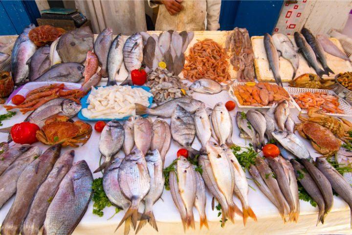 poisson marche essaouira maroc - blog edreams