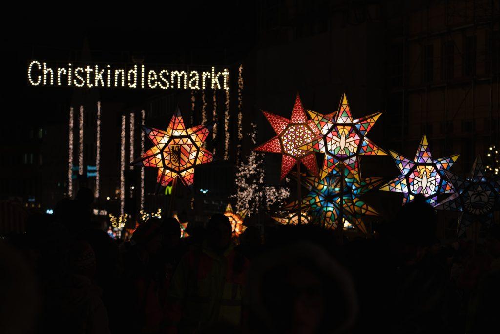 Nuremberg, Christkindlesmarkt - allemagne