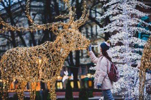 décoration de Noël en Norvège