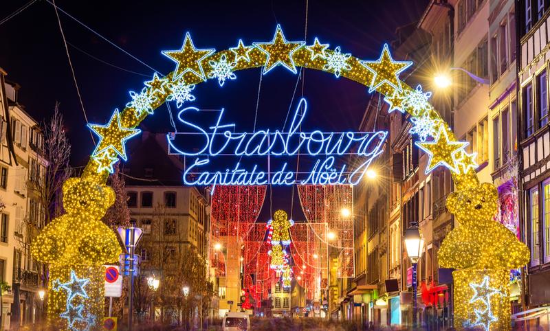 Marché Noel à Strasbourg