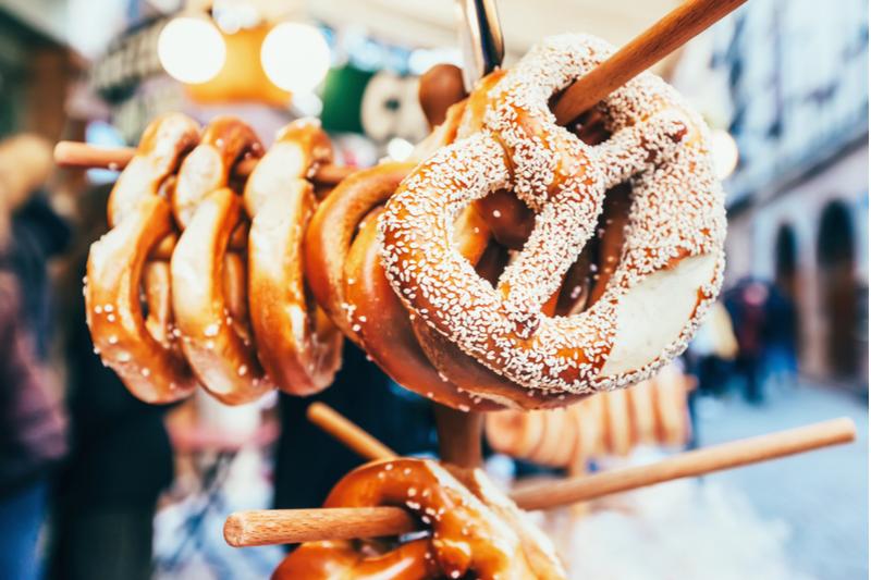 Strasbourg pretzel