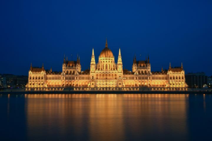 Parlement hongrois de nuit - Budapest
