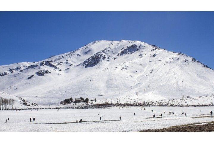 Ouikaimeden et ses pistes de ski - Maroc Hiver