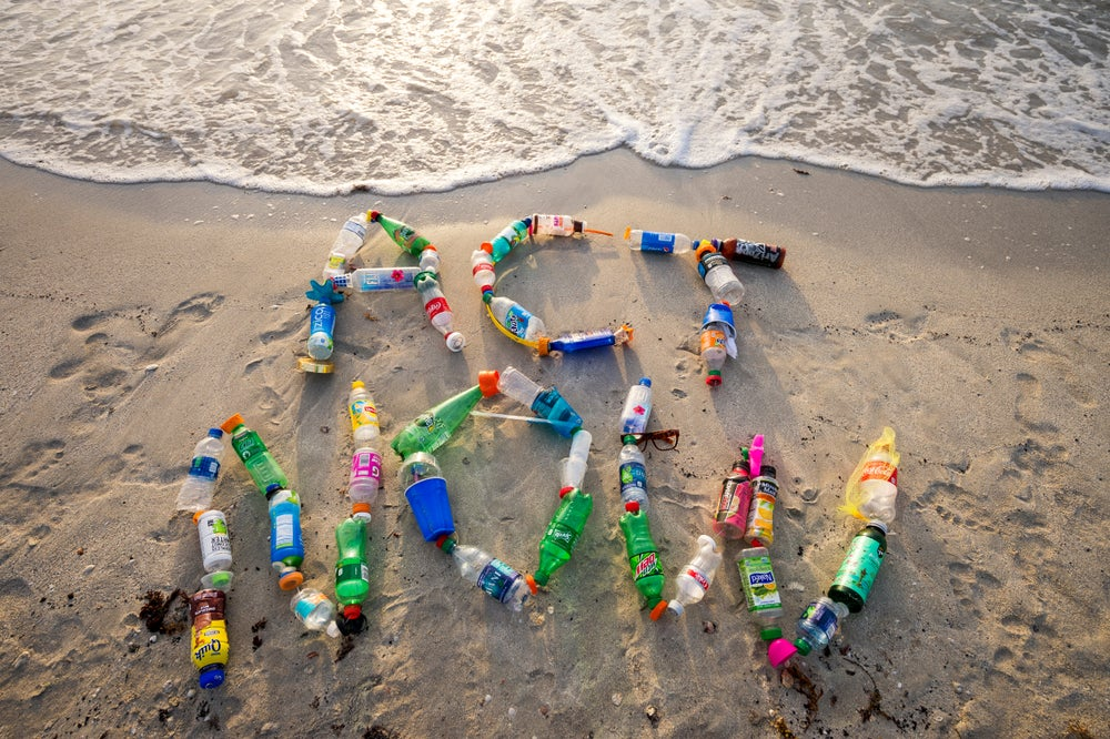 recyclage plage