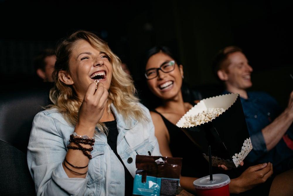 filles au cinéma
