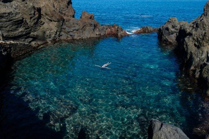 Piscine naturelle à Tenerife