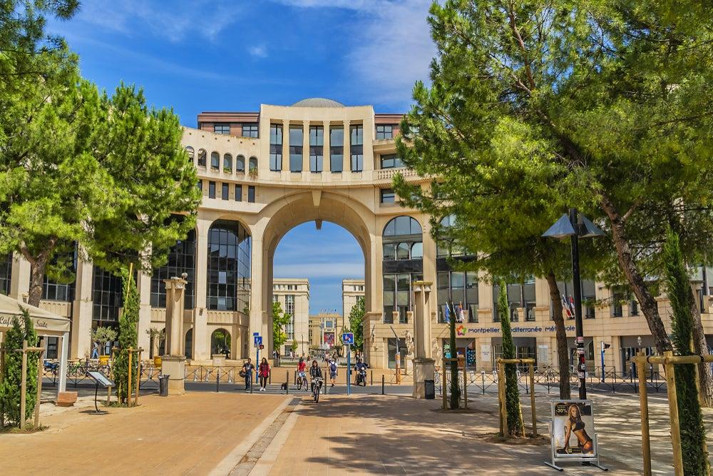 quartier d'Antigone Montpellier