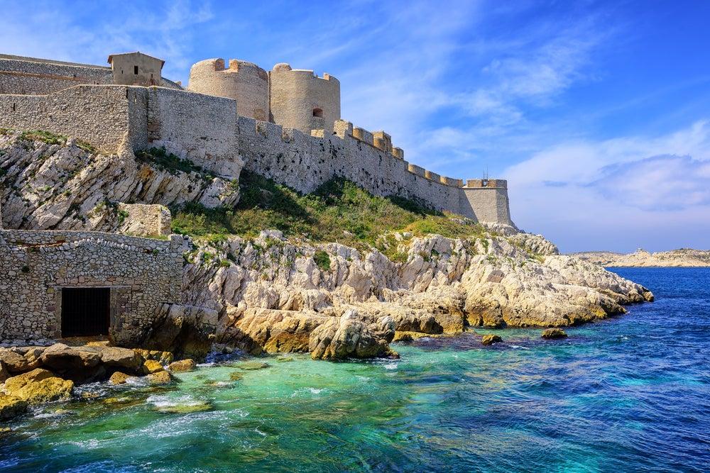 îlot d'If et chateau archipel du Frioul Marseille