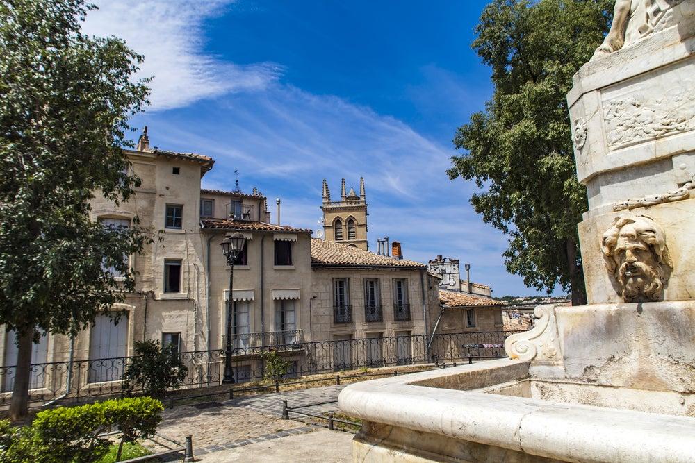 fontaine de place de la Canourgue Montpellier